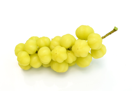 Star gooseberry isolated on white background photo