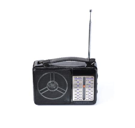 radio transmitter isolated on white background  photo