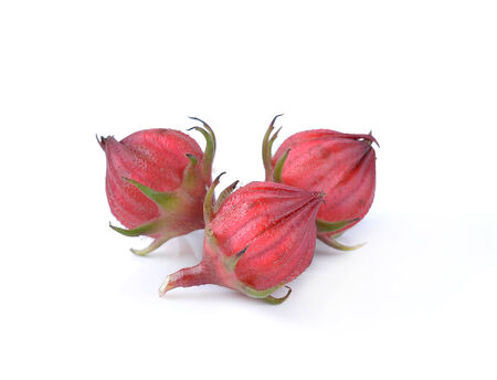 sepals: Hibiscus sabdariffa or roselle fruits