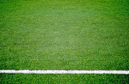 campo di calcio: Campo di calcio di calcio in erba