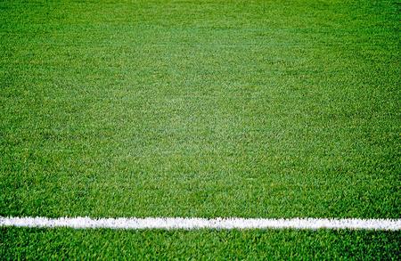american football background: Soccer football grass field