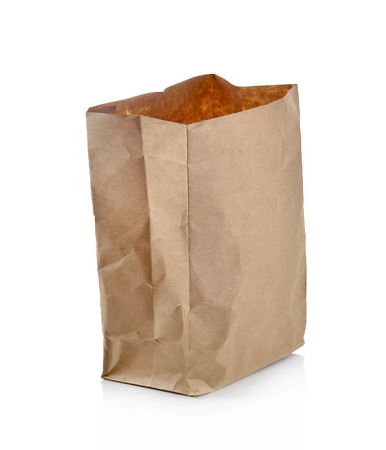 paperbag: paper bag Stock Photo