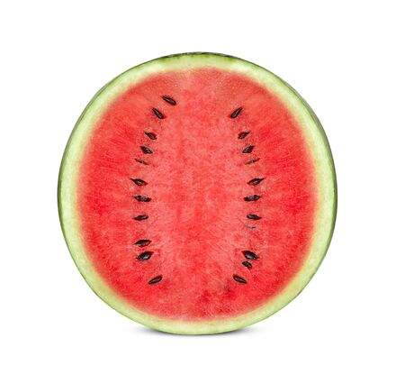 watermelon isolated on white background. Stock Photo