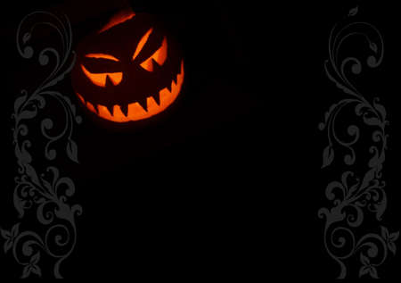 jackolantern: Jack-o-lantern halloween night background