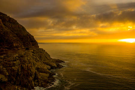 The famous Chapmans peak near Hout bay Cape Town South Africa Stockfoto
