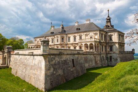 real renaissance: Old Pidhirtsi Castle, village Podgortsy,  Lviv region, Ukraine Stock Photo