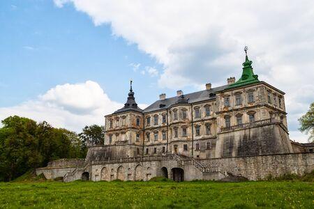 real renaissance: Old Pidhirtsi Castle, village Podgortsy,  Lviv region, Ukraine Editorial
