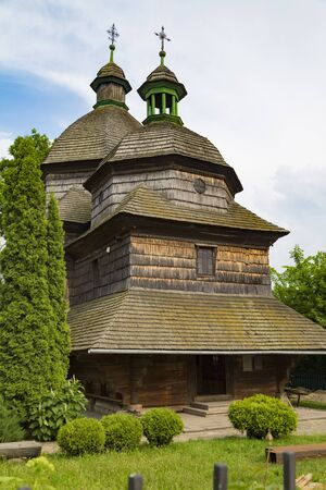 Ancient wooden Holy Trinity Church