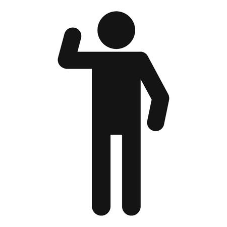 stick figure stickman icon pictogram vector simple illustration rh 123rf com stick figure vector download stick figure vector art free