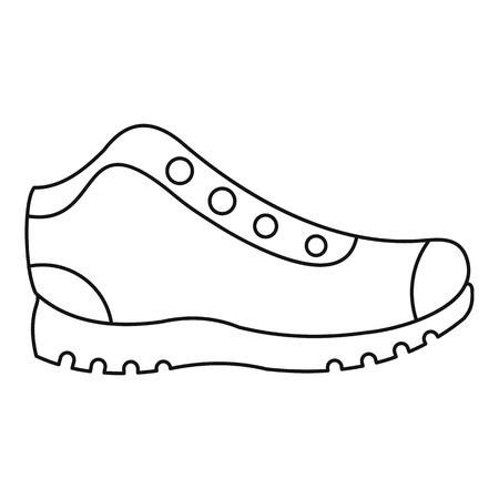 Caminar patea el diseño del ejemplo del icono.