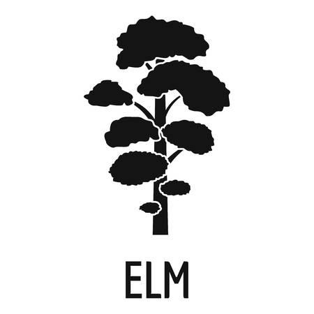 Icono de árbol de olmo. Ilustración simple de icono de vector de árbol de olmo para web Ilustración de vector