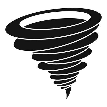 A Hurricane icon. Simple illustration of hurricane vector icon for web