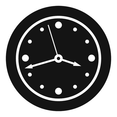 Clock design icon. Simple illustration of clock design vector icon for web