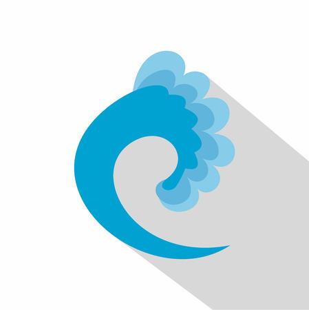 Wave ocean icon.
