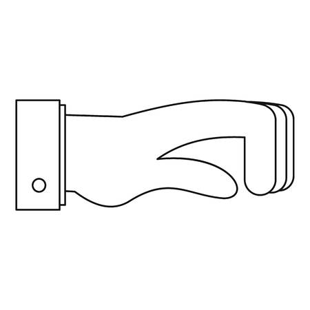 Twisted finger icon.
