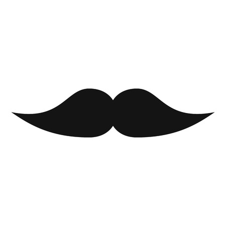 Movie whiskers icon. Simple illustration of movie whiskers vector icon for web