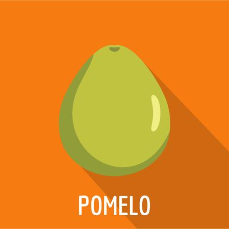 Pomelo icon. Flat illustration of pomelo vector icon for web Vettoriali