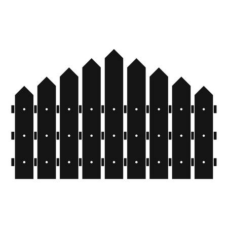 Triangular fence icon. Simple illustration of triangular fence vector icon for web. 向量圖像