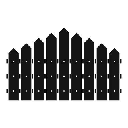 Triangular fence icon. Simple illustration of triangular fence vector icon for web. Illusztráció