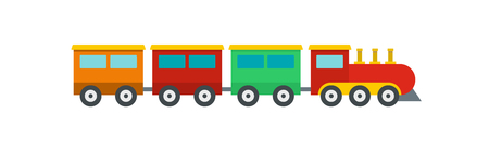 Compartment train icon. Flat illustration of compartment train vector icon for web. Illustration