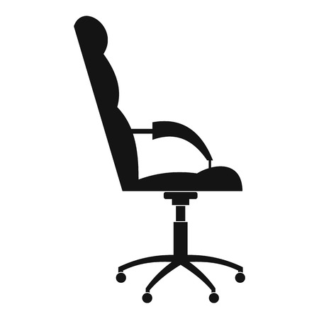 Armchairwith armrests icon. Simple illustration of armchair armrests vector icon for web. Illustration