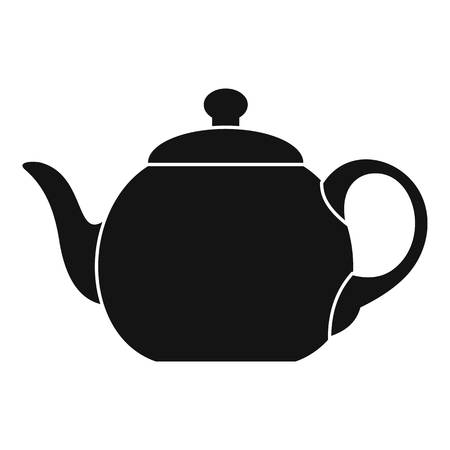 Big teapot icon. Simple illustration of big teapot vector icon for web