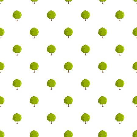 任意のデザインのためのフラットなスタイルでシームレスなブナの木のパターン 写真素材 - 94747439