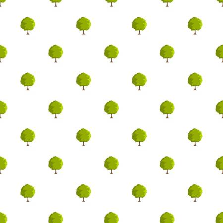 Beech tree pattern seamless in flat style for any design