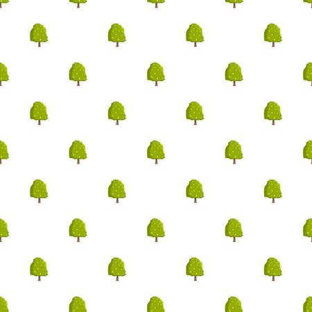 Chestnut tree pattern seamless in flat style for any design