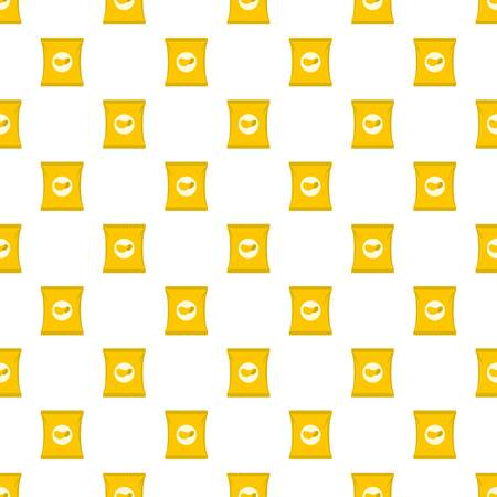 Chips pattern seamless in flat style for any design