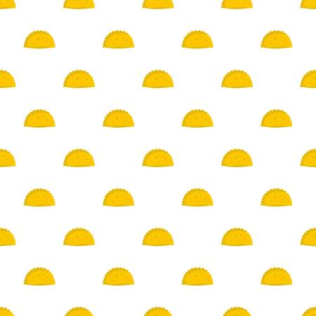 Pattie pattern seamless in flat style for any design Ilustrace