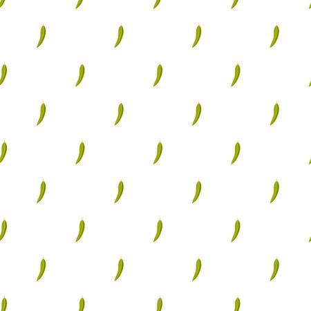 Eucalyptus leaf pattern seamless in flat style for any design