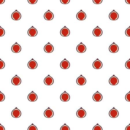 Fig pattern seamless in flat style for any design