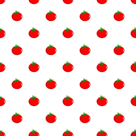 Tomato pattern seamless in flat style for any design