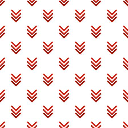 Pointing arrow pattern seamless in flat style for any design Illustration