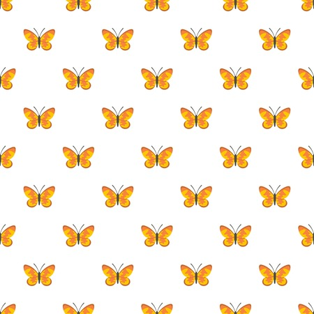 Wild butterfly pattern seamless in flat style for any design
