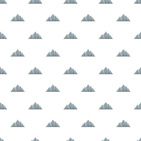 Alp pattern seamless in flat style for any design Illustration