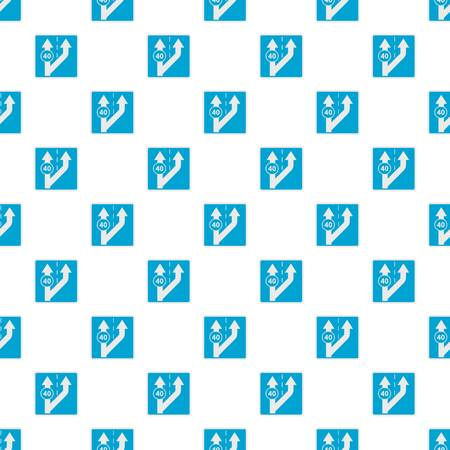 Forty on arrow pattern seamless in flat style for any design