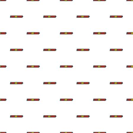 Live hd news pattern seamless in flat style for any design.