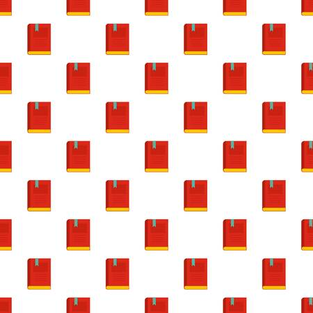 Bookstore pattern seamless in flat style for any design