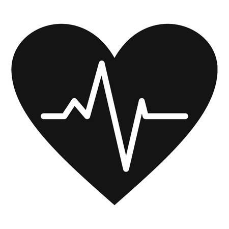 Healthy heart icon.