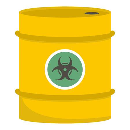 Barrel icon. Cartoon illustration of barrel vector icon for web Illustration
