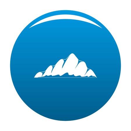Mountain landscape icon Ilustração