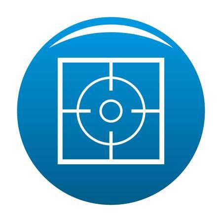 Destination icon in blue circle