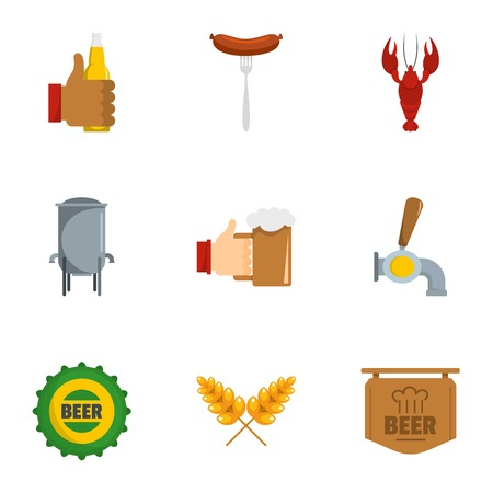 Have a snack icons set. flat set of 9 have a snack vector icons for web isolated on white background