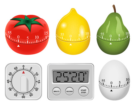 Cooking Timer Clipart