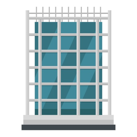 House icon. Flat illustration of house vector icon for web