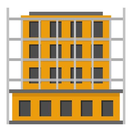 Scaffolding icon. Flat illustration of scaffolding vector icon for web Ilustracja