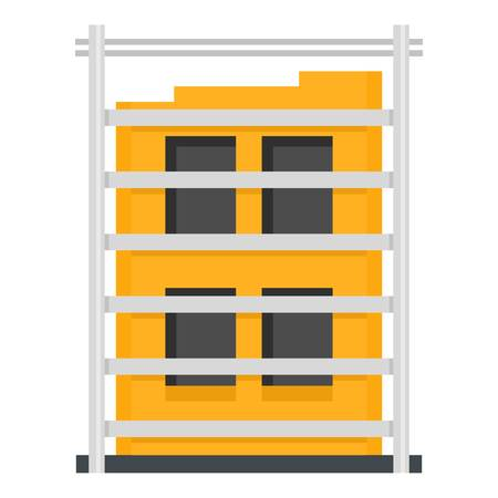 Building structure icon.