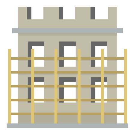 Construction of a building icon. Ilustracja